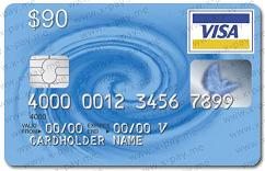 90 VISA VIRTUAL (RUS BANK)