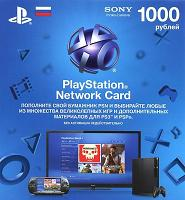 Playstation Network 1000 рублей